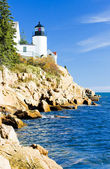 Bass Harbor Lighthouse, Maine, USA — Stock Photo