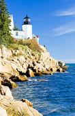Bass Harbor Lighthouse, Maine, USA — Stock Photo