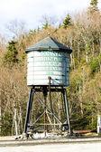 Water tank, Mount Washington Cog Railway, Bretton Woods, New Ham — Stock Photo