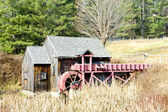 Grist mill near Guilhall, Vermont, USA — Stock Photo