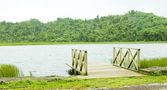Grand Etang lake, Grand Etang National Park, Grenada — Stock Photo