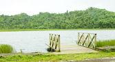 Grand Etang lake, Grand Etang National Park, Grenada — Stock Photo