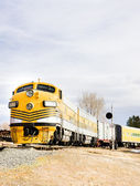 Diesel locomotive, Colorado Railroad Museum, USA — Stock Photo