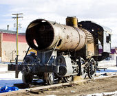 Part of steam locomotive, Alamosa, Colorado, USA — Stock Photo