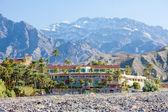 Furnace Creek Inn, Death Valley National Park, California, USA — Stock Photo