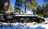 Steam locomotive, Flagstaff, Arizona, USA — Stock Photo