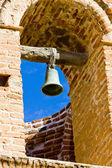 Bell toren van san jose de tumacacori chruch, arizona, verenigde staten — Stockfoto