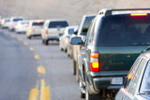 Traffic jam, Arizona, USA — Stock Photo