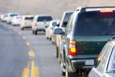 Traffic jam, Arizona, USA — Stock Photo