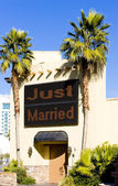 Wedding chapel, Las Vegas, Nevada, USA — Stock Photo