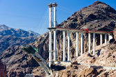 Bridge over Hoover Dam, Arizona-Nevada, USA — Stockfoto