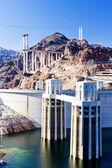 Hoover Dam, Arizona-Nevada, USA — Stock Photo