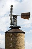 Windmill, Ruprechtov, Czech Republic — Stock Photo
