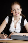 Portrait of businesswoman at office — Stock Photo