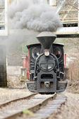 Steam locomotive, Ciernohronska Railway, Slovakia — Stock Photo