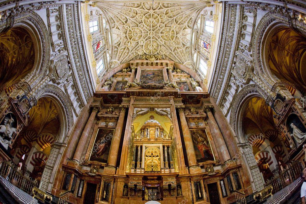 Int rieur de la mosqu e cath drale cordoue andalousie for Interieur de la kaaba