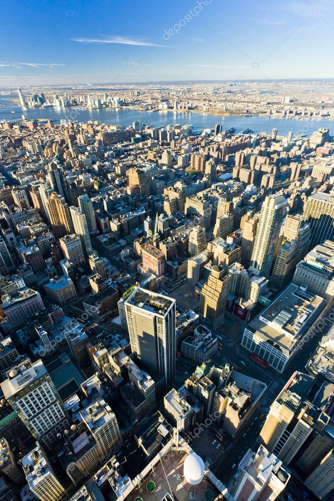 View of Manhattan from The Empire State Building, New York City, USA — Stock Photo #11289737