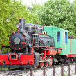 Steam locomotive, Kostolac, Serbia — Stock Photo