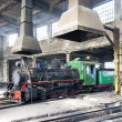 Stock Photo: Steam locomotive in depot, Kostolac, Serbia