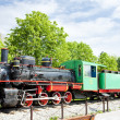 Steam locomotive, Kostolac, Serbia — Stock Photo #11290184