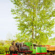 Steam locomotive, Kostolac, Serbia - Stock Photo