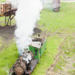 Steam locomotives, Kostolac, Serbia - 图库照片
