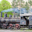 Steam locomotive (126.014), Resavica, Serbia - Foto de Stock