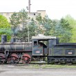 Steam locomotive (126.014), Resavica, Serbia — Stock Photo