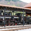Stock Photo: Steam locomotive, Sargan, Serbia
