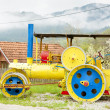 Stock Photo: Steam roller, MokrGora, Serbia