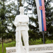 Memorial, Mokra Gora, Serbia — Stock Photo