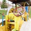 Foto Stock: Steam roller
