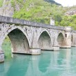 Bridge over Drina River, Visegrad, Bosnia and Hercegovina — Stock Photo