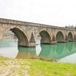 Bridge over Drina River, Visegrad, Bosnia and Hercegovina — Stock Photo