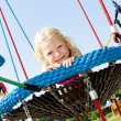 Stock Photo: Little girl at playground
