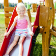 Little girl at playground — Stock Photo #11291355