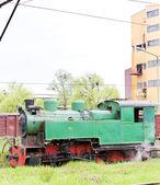 Steam locomotive, Kolubara, Serbia — Stock Photo
