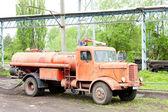 Fire engine, Kolubara, Serbia — Stock Photo