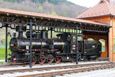 Steam locomotive, Sargan, Serbia — Stock Photo