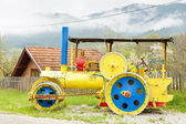 Steam roller, Mokra Gora, Serbia — Stock Photo