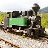 Steam locomotive, Dobrun, Bosnia and Hercegovina — Stock Photo