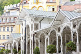 Market Colonnade, Karlovy Vary (Carlsbad), Czech Republic — Stock Photo