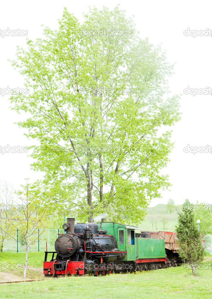 Steam locomotive, Kostolac, Serbia — Stock Photo #11290190