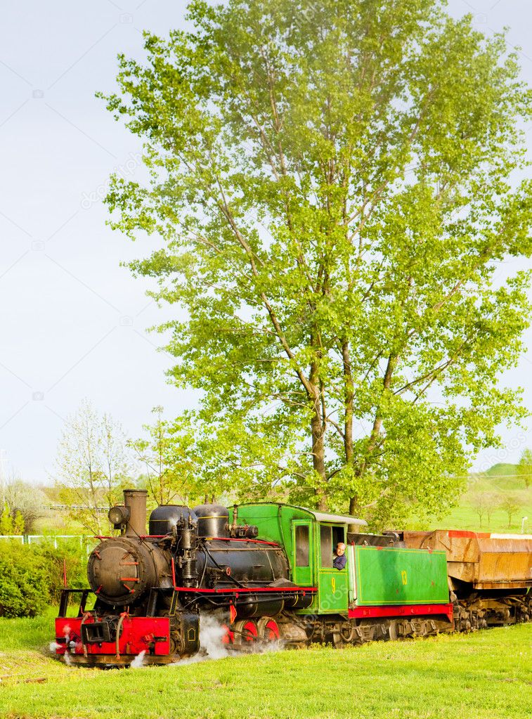 Steam locomotive, Kostolac, Serbia  Stock Photo #11290193