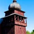 Wooden church of Holy Cross, Lazisko, Slovakia — Stock Photo