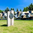 Armored train - memorial of Slovak National Uprising, Zvolen, Sl - Stock Photo