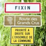 Постер, плакат: Wine route Fixin Burgundy France