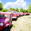 Fire engines, Provence, France — Stock Photo