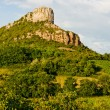 Stock Photo: Solutre Rock, Burgundy, France