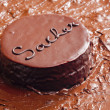 Sacher cake — Stock Photo